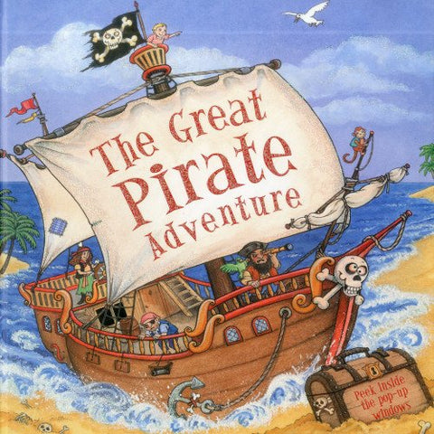 The Great Pirate Adventure: Peek Inside The 3D Windows