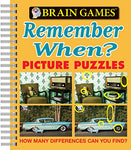 Brain Games Picture Puzzles: Remember When? - How Many Differences Can You Find? (Brain Games (Unnumbered))