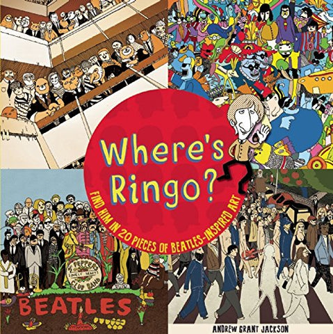 Where'S Ringo?: Find Him In 20 Pieces Of Beatles-Inspired Art