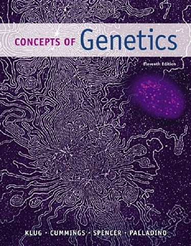 Concepts Of Genetics Plus Mastering Genetics With Etext -- Access Card Package (11Th Edition) (Klug Et Al. Genetics Series)