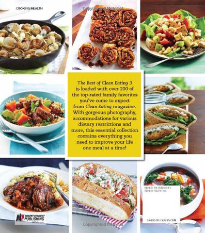 The Best Of Clean Eating 3: More Than 200 Easy, Slimming Recipes That Dont Skimp On Flavor
