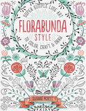 Florabunda Style: Super Simple Line Art To Color, Craft & Draw