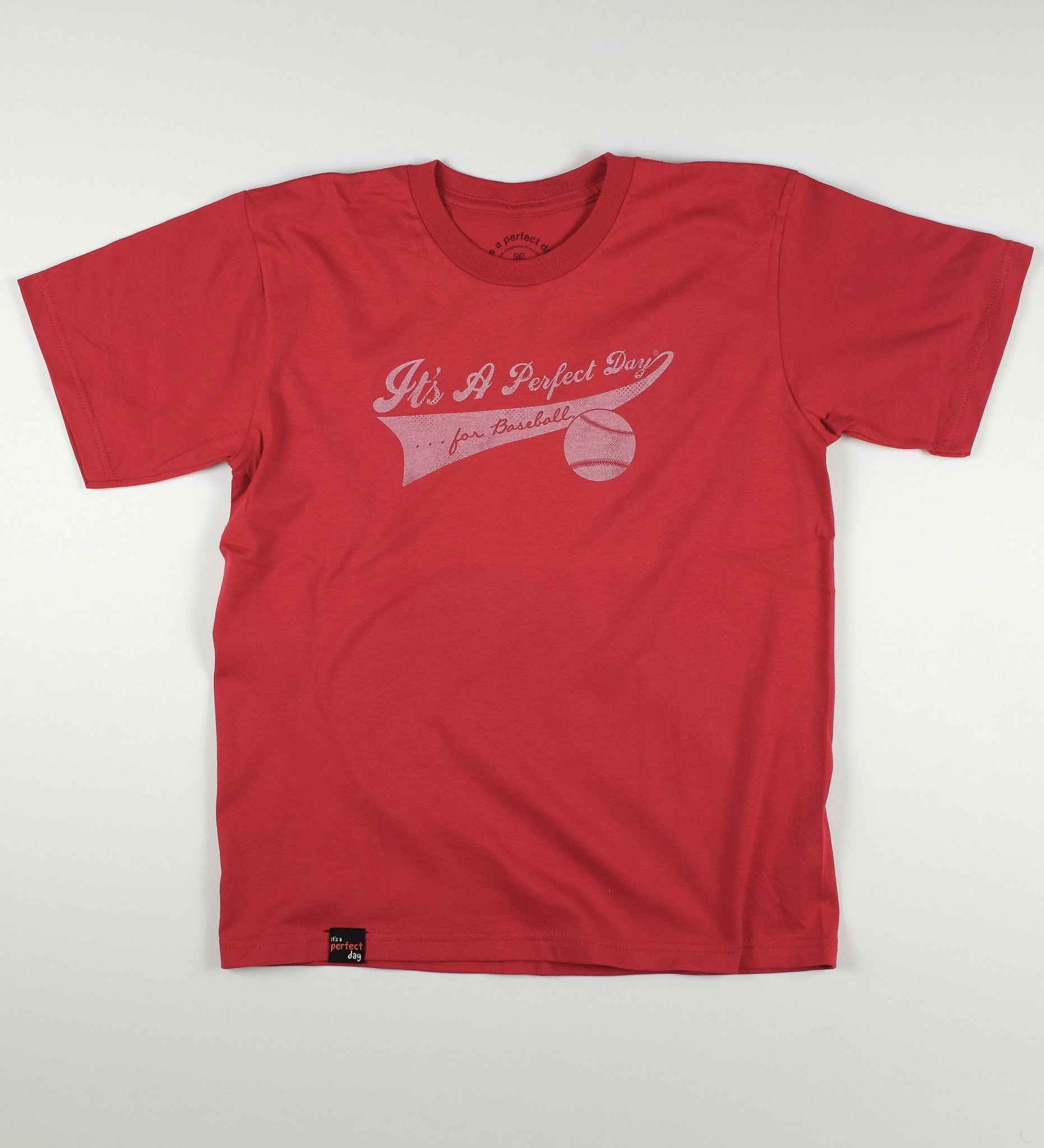 Baseball Tee (Youth, Independence Red)