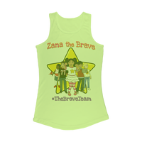 THE BRAVE TEAM Women Performance Tank Top