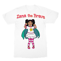 Zana the Brave NEW Premium Sublimation Adult T-Shirt