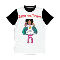 Zana the Brave NEW Classic Sublimation Panel T-Shirt