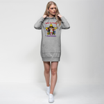 THE BRAVE TEAM Premium Adult Hoodie Dress