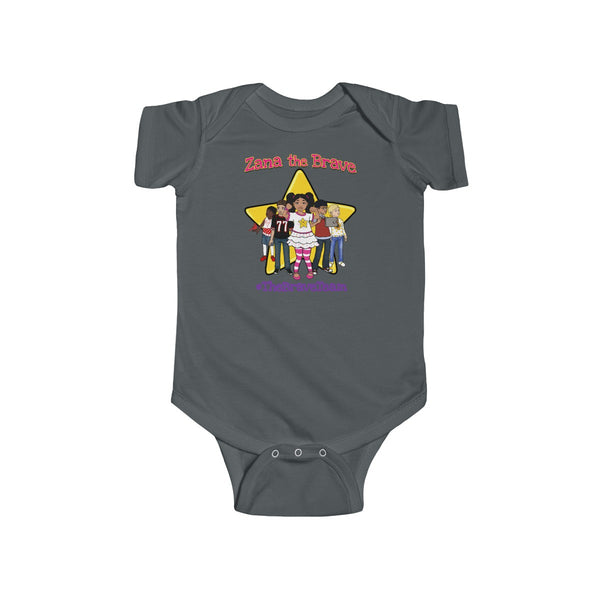 THE BRAVE TEAM Infant Fine Jersey Bodysuit