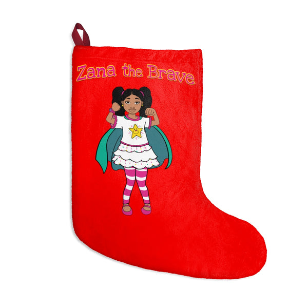 Zana the Brave NEW - Christmas Stockings (red)
