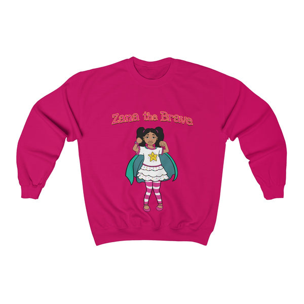 Zana the Brave NEW - Adult Unisex Heavy Blend™ Crewneck Sweatshirt