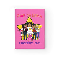 THE BRAVE TEAM Journal - Ruled Line (Hot Pink)