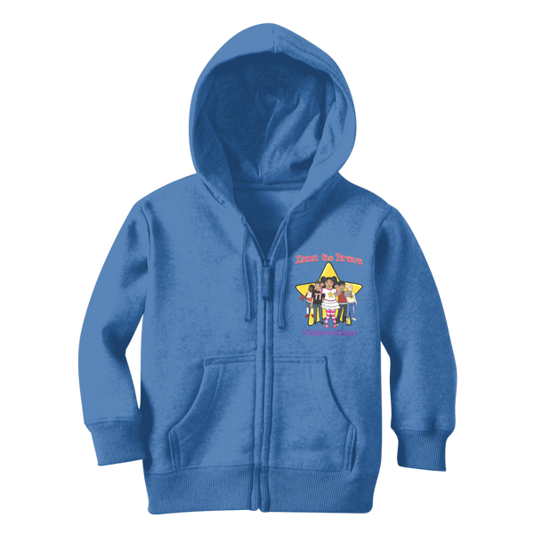THE BRAVE TEAM Classic Kids Zip Hoodie