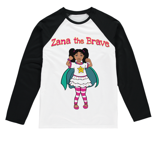Zana the Brave NEW Sublimation Baseball Long Sleeve T-Shirt