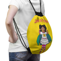 Zana the Brave NEW Drawstring Bag - Yellow