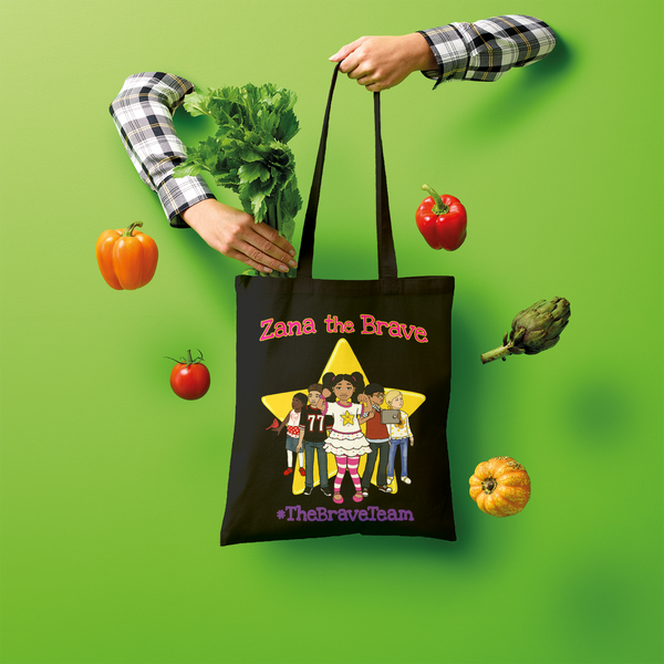 THE BRAVE TEAM Shopper Tote Bag