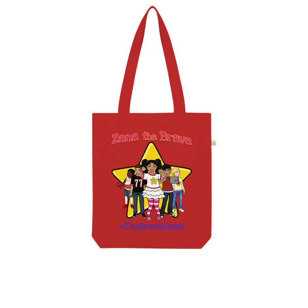 THE BRAVE TEAM Organic Tote Bag