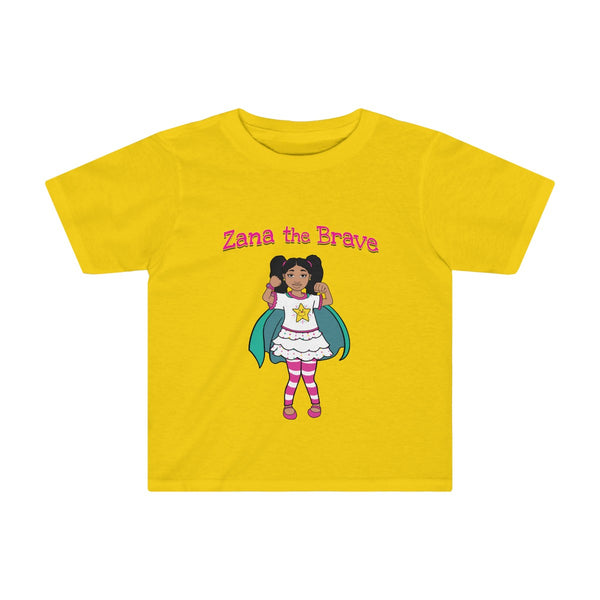 Zana The Brave NEW Toddler Kids Tee