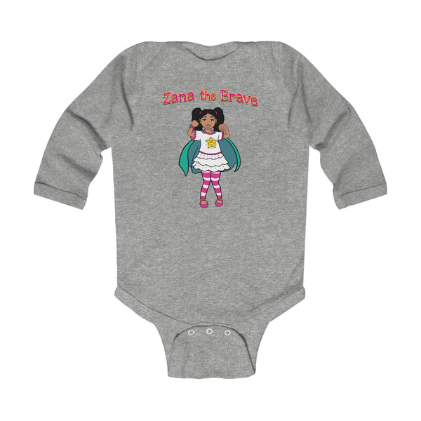 Zana the Brave NEW Infant Long Sleeve Bodysuit