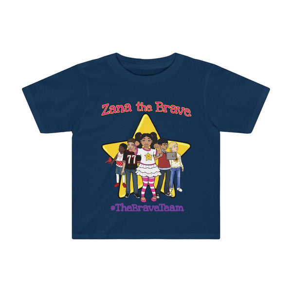 THE BRAVE TEAM Toddler Kids Tee