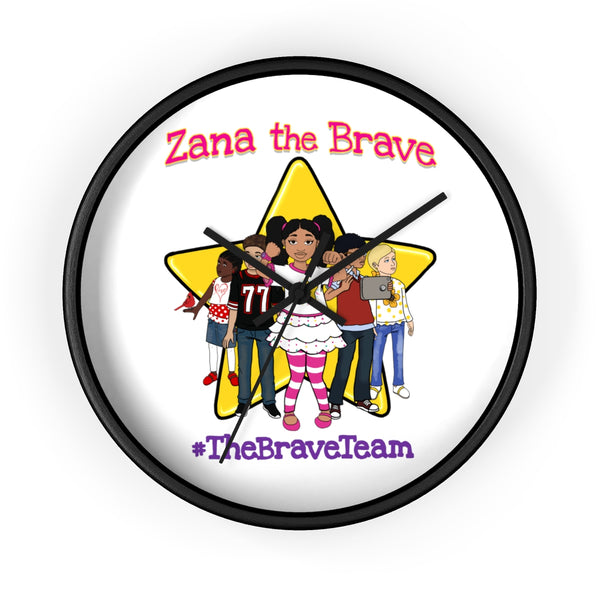 THE BRAVE TEAM Wall Clock
