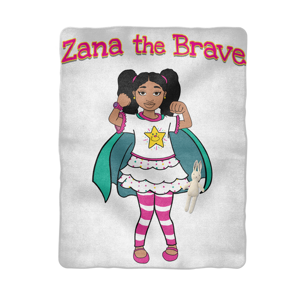 Zana the Brave NEW Sublimation Baby Blanket