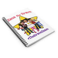 THE BRAVE TEAM Spiral Notebook - Ruled Line