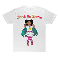 Zana the Brave NEW Classic Sublimation Adult T-Shirt