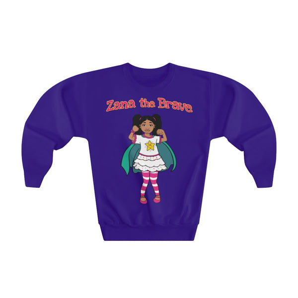Zana the Brave NEW - Youth Crewneck Sweatshirt