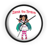 Zana The Brave NEW Wall Clock