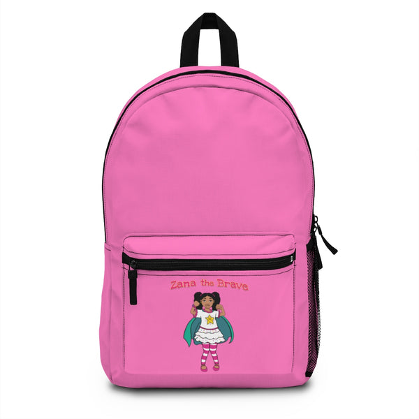 Zana the Brave NEW Backpack (Made in USA) - Hot Pink