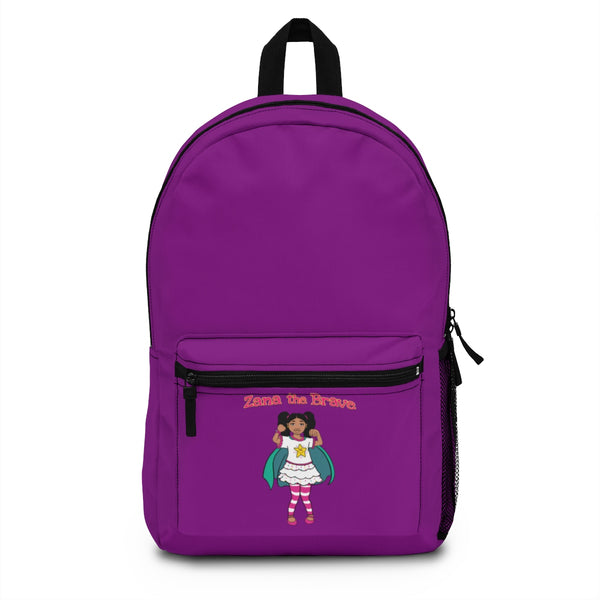 Zana the Brave NEW Backpack (Made in USA) - Purple