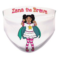 Zana the Brave NEW Sublimation Face Mask