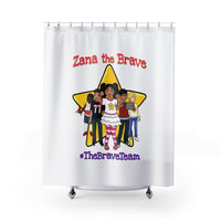 THE BRAVE TEAM - Shower Curtains