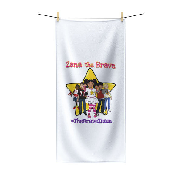 THE BRAVE TEAM - Polycotton Towel