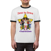 THE BRAVE TEAM - Adult Unisex Ringer Tee