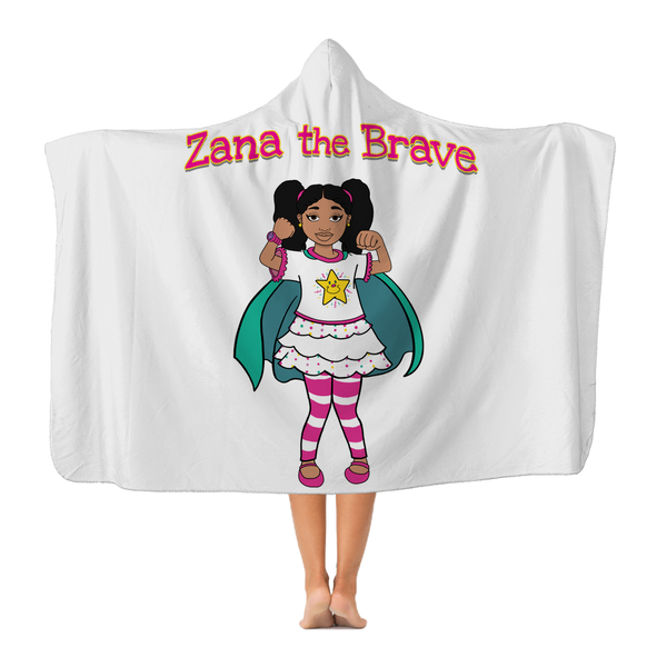 Zana the Brave NEW Classic Adult Hooded Blanket