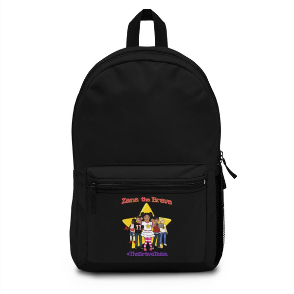 THE BRAVE TEAM Backpack (Made in USA) - Black