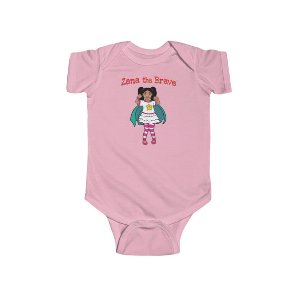 Zana The Brave NEW  Infant Fine Jersey Bodysuit
