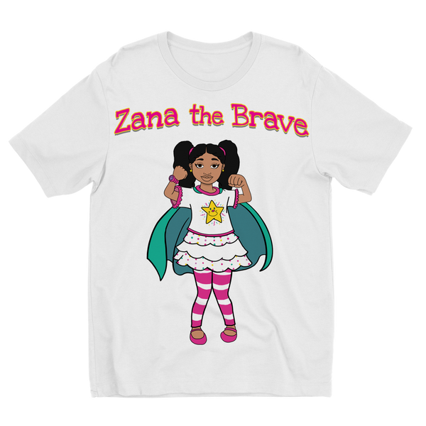 Zana the Brave NEW Sublimation Kids T-Shirt
