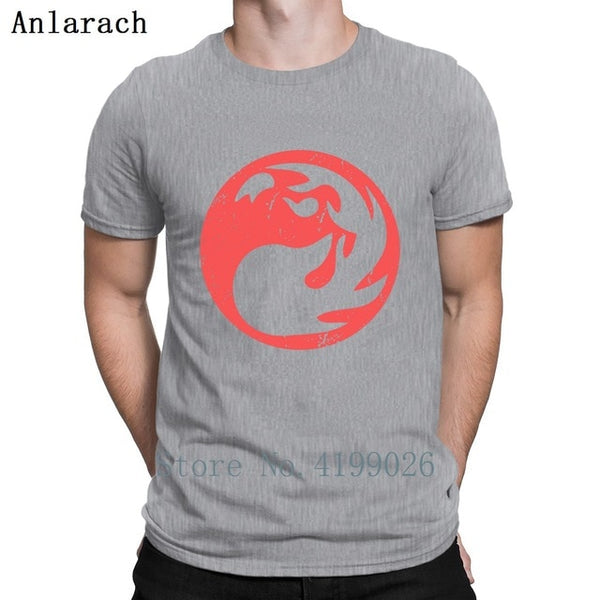 Red Mana Magic The Gathering Vintage T Shirt