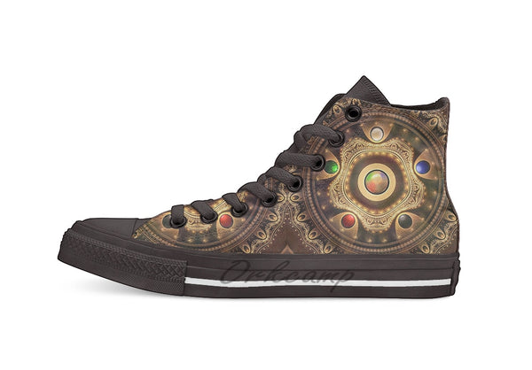Mana Stone High-Top Shoes