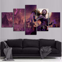 HD Printed Modular Pictures Wall Art 5 Pcs Magic The Gathering