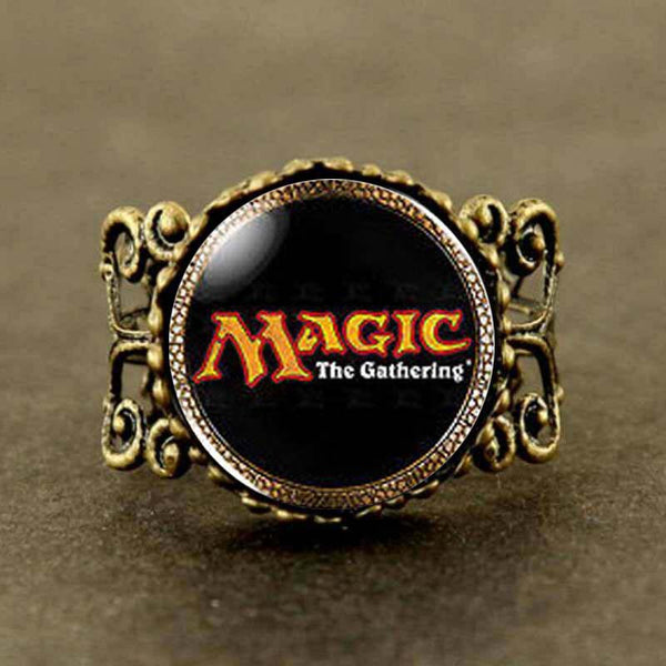 MTG Logo Brass Ring
