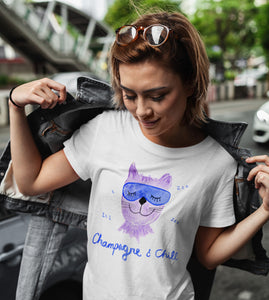 Champagne & Chill Women's T-shirt