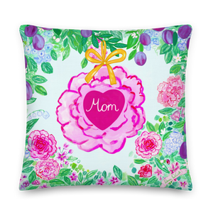 Mom in My Heart Pillow 20 x 20''