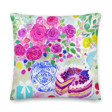 Load image into Gallery viewer, Celebrating You Luxury Pillow 20 x 20''