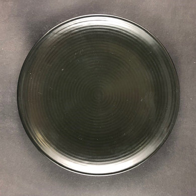 SH Casa Side plate with Fine Lines 17cm - Black