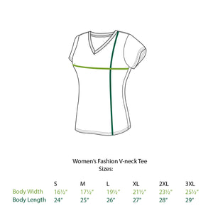 William Women's V-Neck T-Shirt