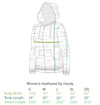 Annabelle fine art Women's Zip-up Hoodie Green