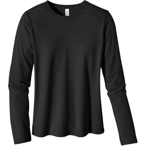 Annabelle Women's Long Sleeve Black